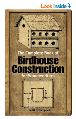complete book of wooden birdhouse construction