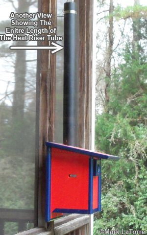 """... with Heat and BluebirdBoxes"""" on our other bluebirdhouse plans page"""