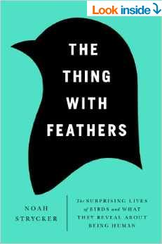 the thing with feathers bird book