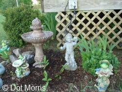Fountain Bird Bath
