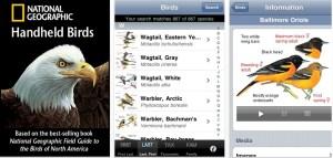 National Geographic Handheld Birding App
