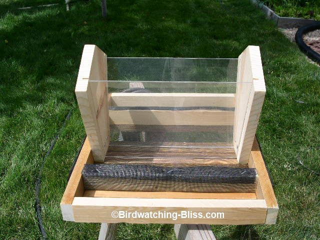 plans to build bird feeder
