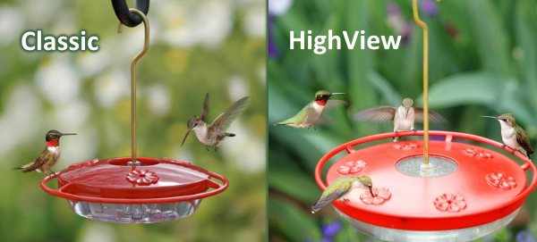 Best Hummingbird Feeders Reviews 2019 Glass Saucer Vacuum Tube