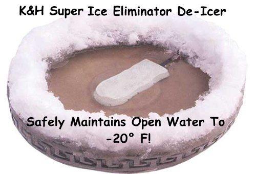 Bird Bath Heater and De-Icer for Winter