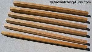 platform birdfeeder frame