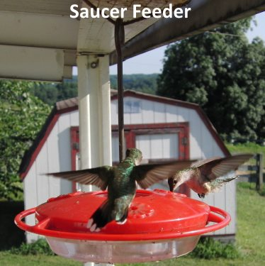 saucer hummingbird feeder will not leak