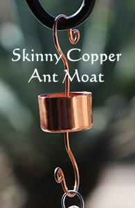 copper ant moat hummingbird feeder