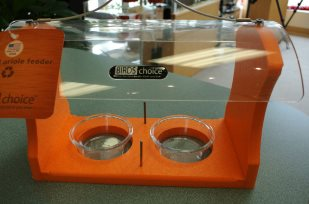 best Oriole feeder holds fruit, jelly, meals worms, and orange nuggets