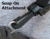 Binocular Harness Snap On