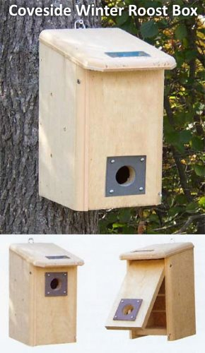 winter bird roosting boxes