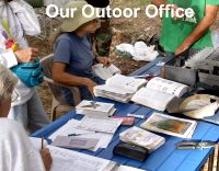 Our Bird Banding Outdoor Office