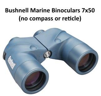 bushnell marine binoculars without compass