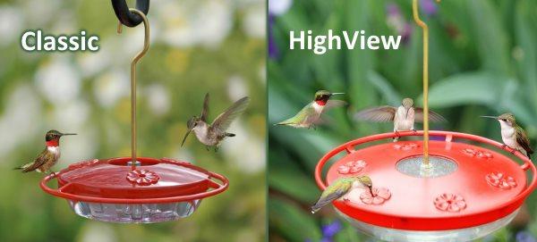 hummzinger classic vs highview hummingbird feeder