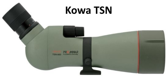 Kowa TSN-883 is one of the best bird watching spotting scopes