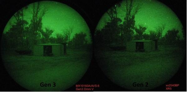 generation 2 vs generation 3 night vision binoculars