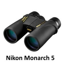 Nikon 8x42 Monarch 5 ATB Binoculars for birding