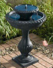 solar bird baths are a great alternative to standard electric