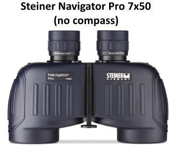 steiner navigator pro 7x50 binoculars without compass