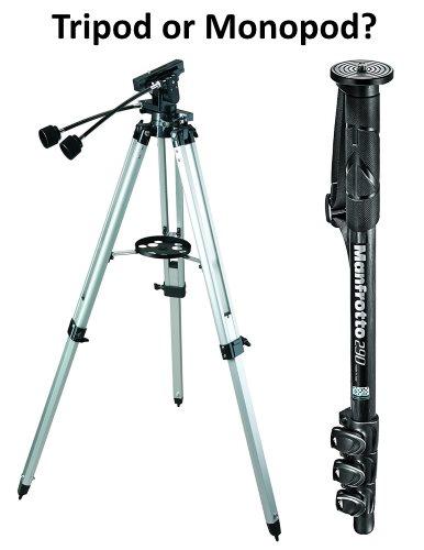 tripod vs monopod for binoculars