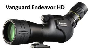 vanguard endeavor hd 20-60x65 spotting scope for birding