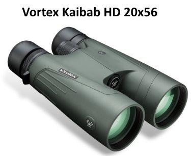 Vortex Kaibab HD 20x56 high power binocualars